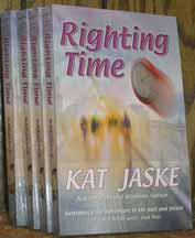 righting time book cover by kat jaske