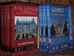 books gambit and for honor by kat jaske